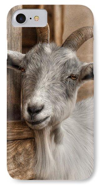Billy Goat IPhone 7 Case by Lori Deiter