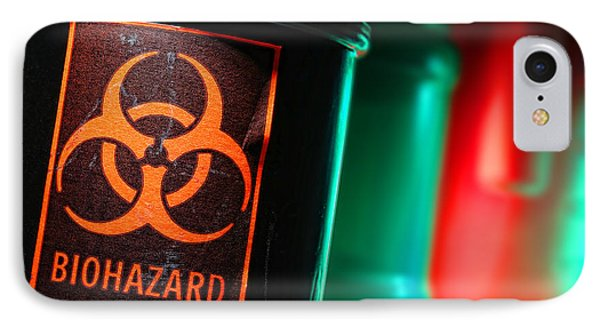 Biohazard Phone Case by Olivier Le Queinec