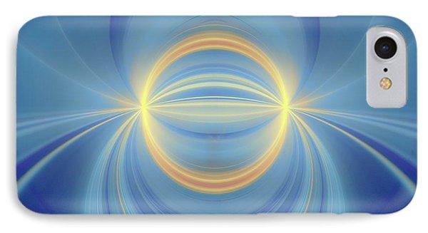 Bipolar Conceptual Illustration IPhone Case by David Parker
