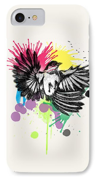 Bird IPhone Case by Mark Ashkenazi