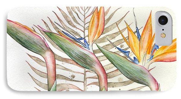 Bird Of Paradise 05 Elena Yakubovich Phone Case by Elena Yakubovich