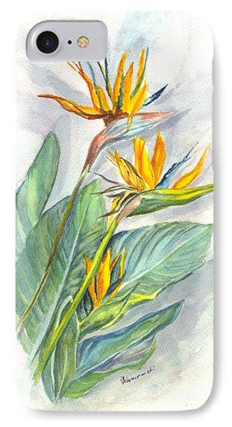 Bird Of Paradise Phone Case by Carol Wisniewski