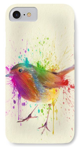 Bird Study IPhone Case by Taylan Apukovska