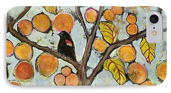 Birds In Paris Landscape IPhone 7 Case by Blenda Studio
