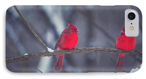 Birds Of A Feather IPhone 7 Case by Carrie Ann Grippo-Pike