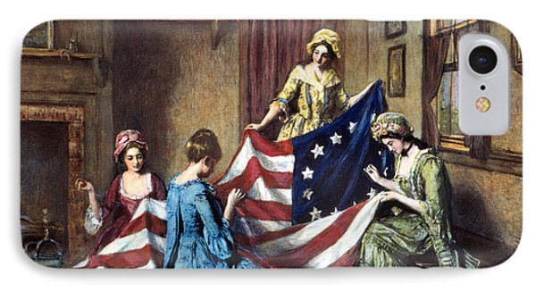 Birth Of The Flag IPhone Case by Granger