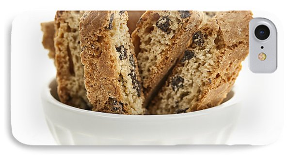 Biscotti Cookies In Bowl IPhone Case by Elena Elisseeva