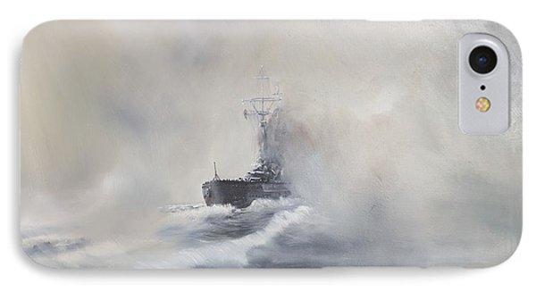 Bismarck Evades Her Pursuers IPhone Case by Vincent Alexander Booth