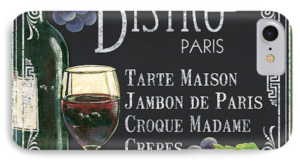 Bistro Paris IPhone 7 Case by Debbie DeWitt