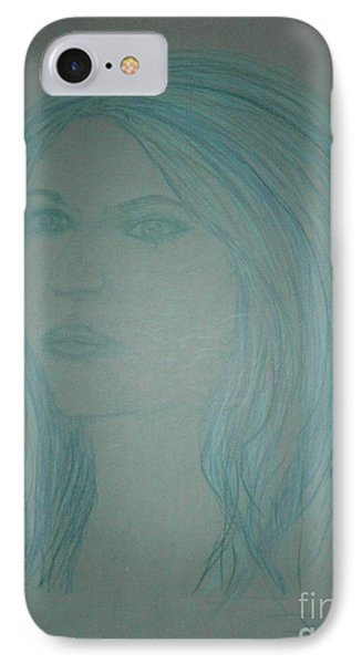Biviana In Blue Phone Case by James Eye