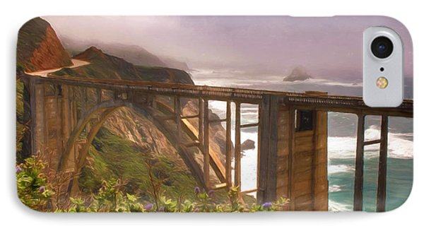 Bixby Bridge At Big Sur IPhone Case by Donna Kennedy