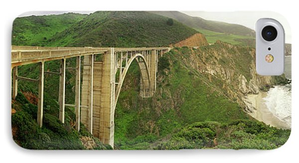Bixby Bridge On The Big Sur Coast IPhone Case by Panoramic Images