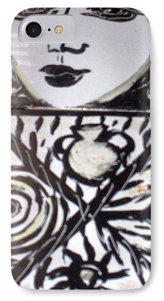 Black And White Phone Case by Catherine Walker