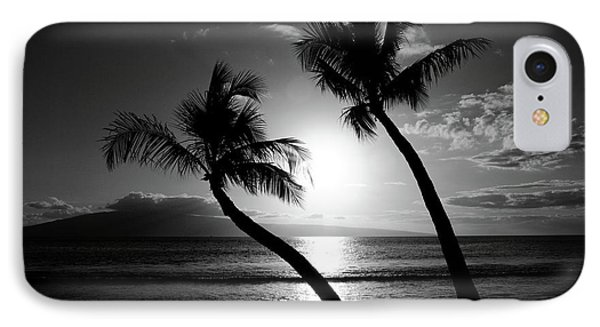 Black And White Tropical IPhone Case by Pierre Leclerc Photography