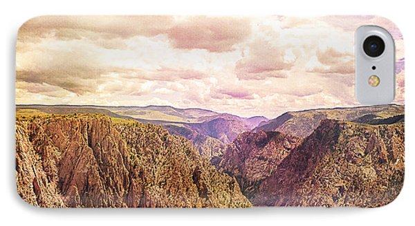 Black Canyon Colorado Phone Case by Janice Rae Pariza