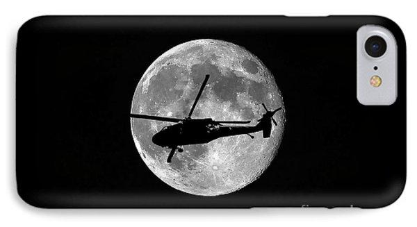 Black Hawk Moon IPhone Case by Al Powell Photography USA