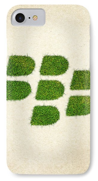 Blackberry Grass Logo IPhone Case by Aged Pixel