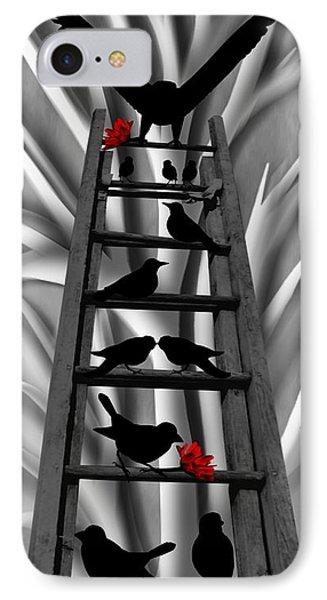 Blackbird Ladder Phone Case by Barbara St Jean