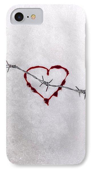 Bleeding Love Phone Case by Joana Kruse