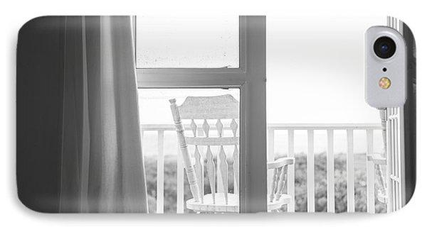 Block Island Beach House View IPhone Case by Diane Diederich