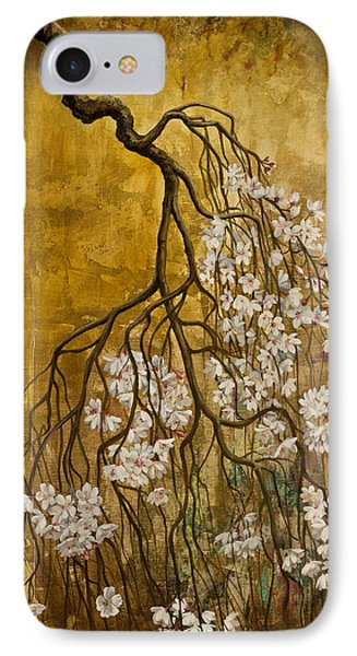 Blooming Sakura Phone Case by Vrindavan Das
