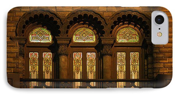 Bloomingdale's At Home In Chicago's Medinah Temple Phone Case by Christine Till