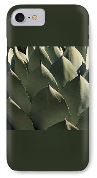 Blue Aloe IPhone 7 Case by Ellen Henneke