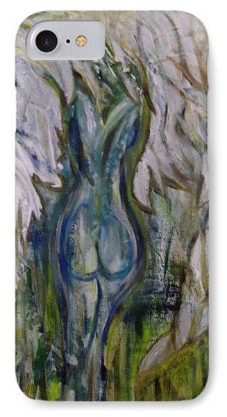 Blue Angel Phone Case by Karen Lillard