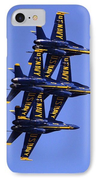 Blue Angels II IPhone Case by Bill Gallagher