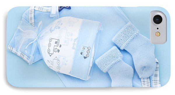 Blue Baby Clothes For Infant Boy Phone Case by Elena Elisseeva