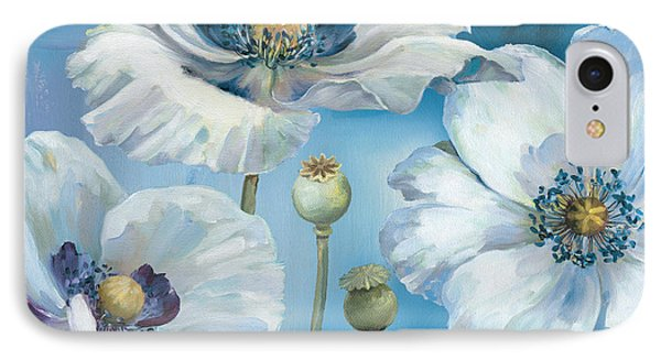 Blue Dance I IPhone Case by Lisa Audit