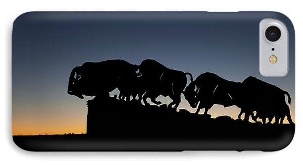 Blue Hour At Caprock Canyons State Park Phone Case by Melany Sarafis