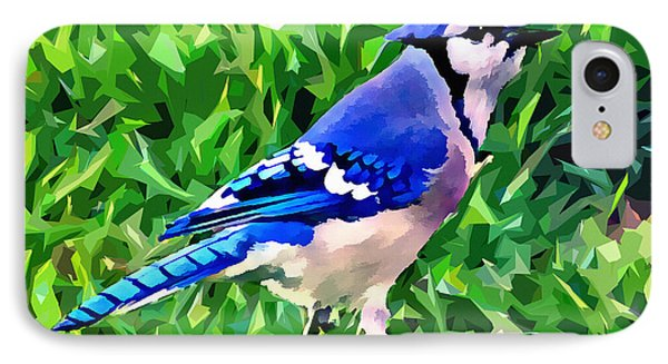 Blue Jay IPhone 7 Case by Stephen Younts