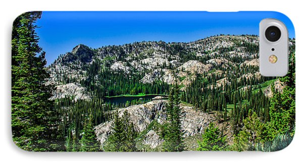 Blue Lake Phone Case by Robert Bales