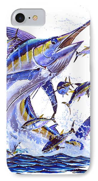 Blue Marlin Phone Case by Carey Chen