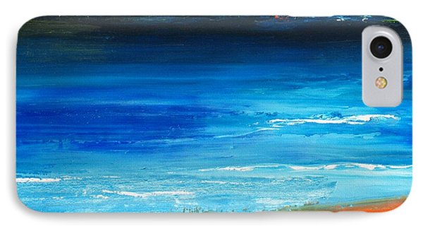 Blue Mist Over Nantucket Island Phone Case by Conor Murphy