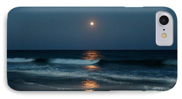 Blue Moon IPhone Case by Cynthia Guinn