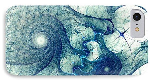 Blue Octopus IPhone Case by Anastasiya Malakhova