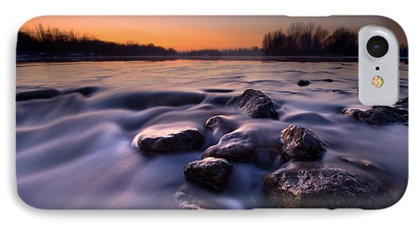 Blue River Phone Case by Davorin Mance