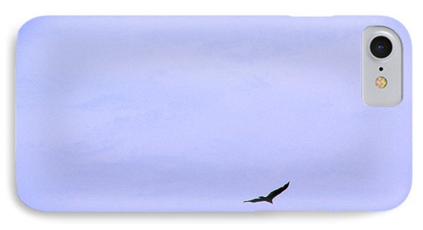 Blue Solo Flight Phone Case by Tina M Wenger