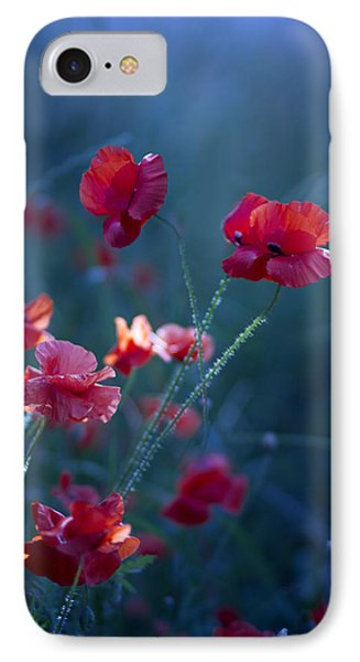 Blue Summer IIi IPhone Case by Magda  Bognar