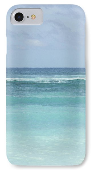 Blue Turquoise Teal Beach Gradient Photo Art Print IPhone Case by Ocean Photos