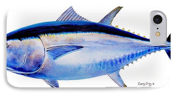 Bluefin Tuna Phone Case by Carey Chen