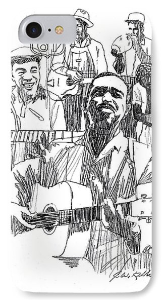 Bluesmen Phone Case by J W Kelly