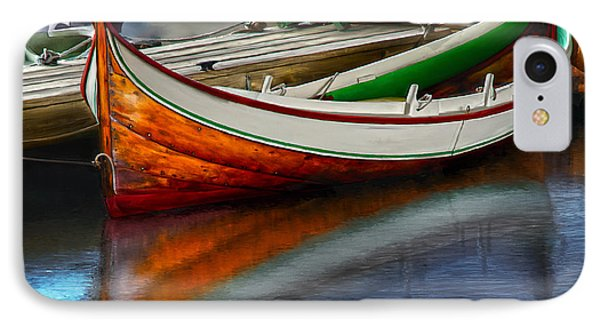 Boat IPhone Case by Rick Mosher