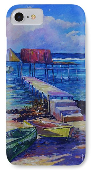 Boat Shed And Boats IPhone Case by John Clark