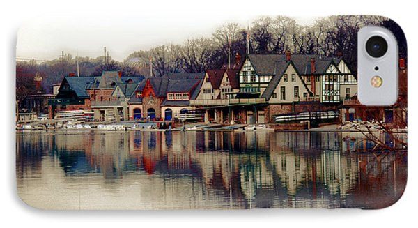 Boathouse Row Philadelphia IPhone 7 Case by Tom Gari Gallery-Three-Photography