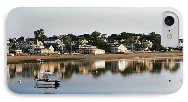 Boats In An Ocean, Cape Cod, Barnstable IPhone Case by Panoramic Images