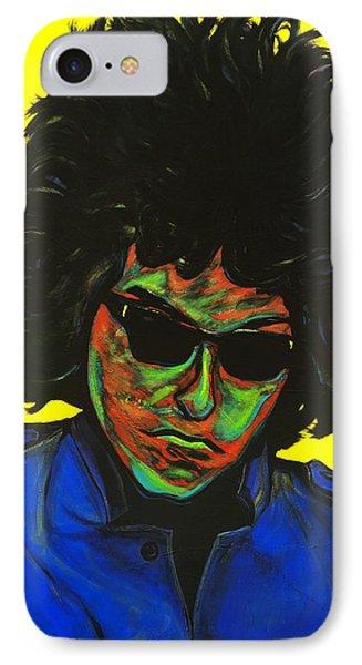 Bob Dylan Phone Case by Edward Pebworth