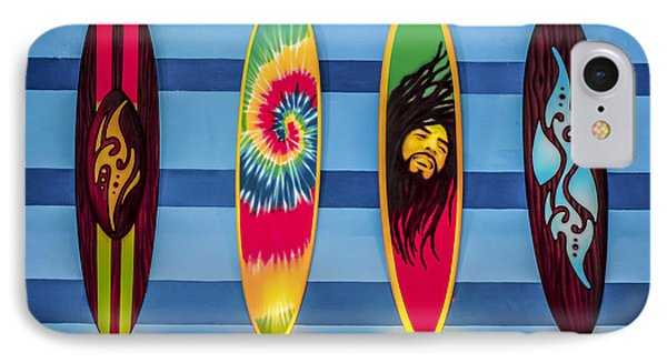 Bob Marley Surfing Display IPhone Case by Gary Keesler